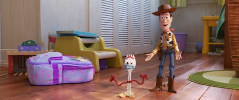 "Among the many original video content that Disney+ will make available Nov. 12 is a 10-episode spin-off starring Bonnie's toy spork from ""Toy Story 4,"" which was released over the summer. Image posted with permission from Disney."