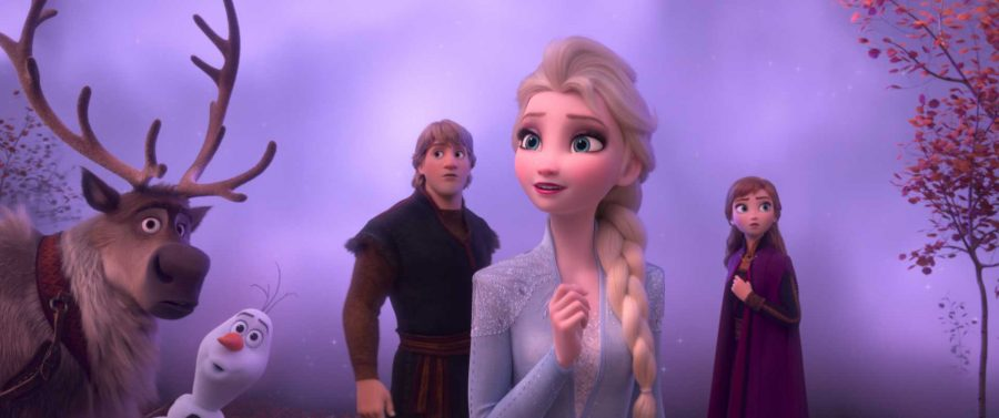 In+%22Frozen+II%2C%22+which+will+be+released+Nov.+22%2C+the+gang+from+the+first+installment+is+back+for+another+adventure.+This+time%2C+Elsa%2C+Anna%2C+Kristoff%2C+Olaf+and+Sven+journey+far+beyond+the+gates+of+Arendelle+in+search+of+answers+to+Elsa%27s+powers+to+manipulate+ice+and+create+snow.+Image+posted+with+permission+from+Disney+Studios.