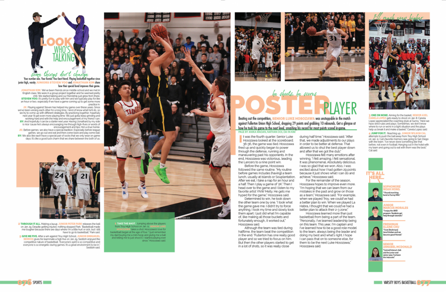 The Columbia Scholastic Press Association recognized Helios's 2018-2019 yearbook Nov. 1, including this Sports section spread. Image posted with permission from Helios