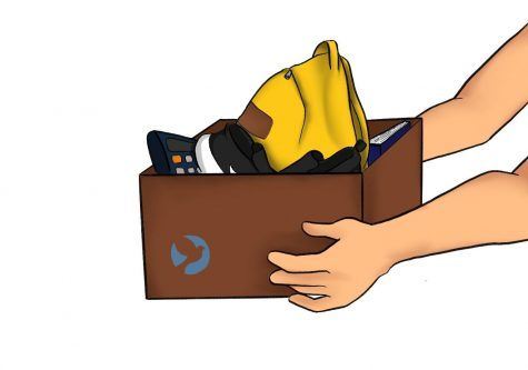 Fullerton's Love of Orange County Kids, also known as FLOCK, has been raising money and accepting donations of school supplies, clothing and prom attire to support homeless students in the community. Art by Erin Lee.