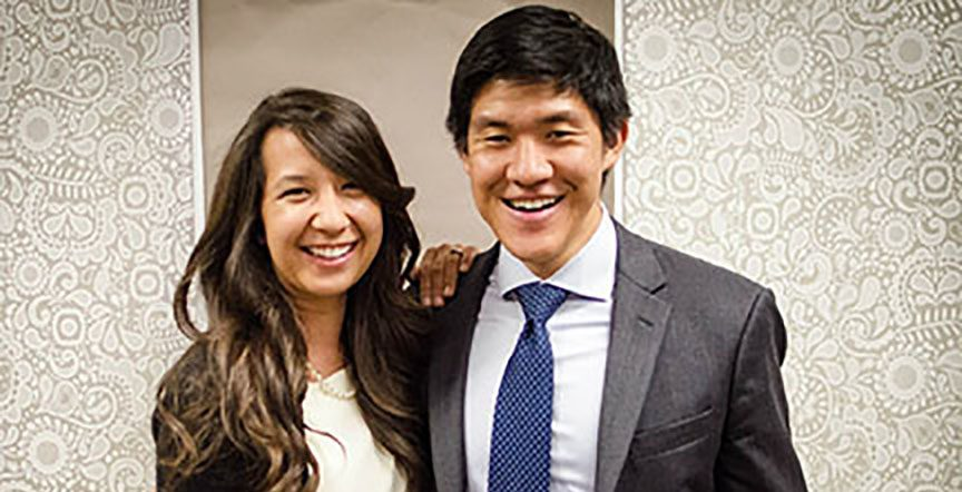 Amber and Samuel Chang (Class of 2005) are among the many high school sweethearts from Sunny Hills who eventually married and have a family. The two met as freshmen, and both were swim and water polo athletes as well as journalism students. Image used with permission from Amber Chang.