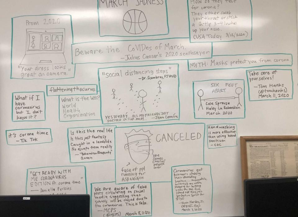 Whiteboard Hope wall