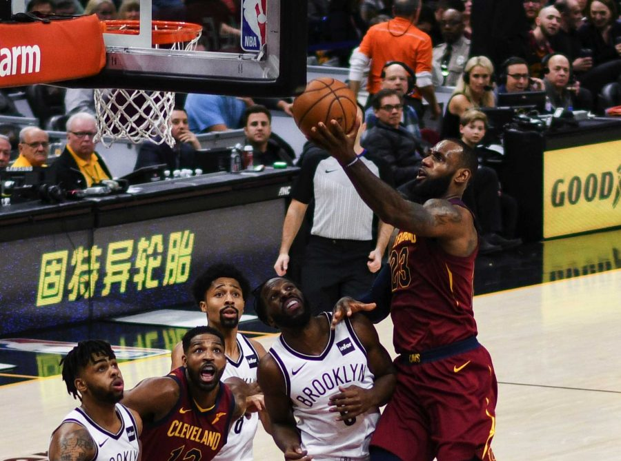 Accolade+copy+editor+Rebecca+Choi+awaits+being+able+to+watch+basketball+again.+Lebron+James+Layup+by+Erik+Drost+is+licensed+under+CC+BY+2.0