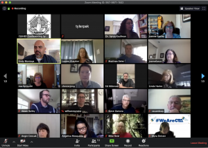 The Fullerton Joint Union High School District board of trustees met on April 24 via Zoom call and voted to adopt a resolution to temporarily modify the traditional grading system. Image taken by Accolade news editor Tyler Pak