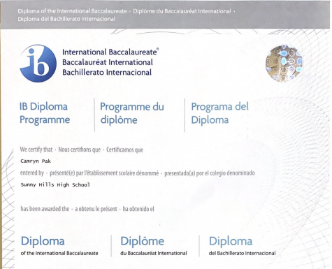 Seniors worry about being eligible to receive their International Baccalaureate diploma following the program's decision to cancel all exams this school year. Image taken by Accolade news editor Tyler Pak