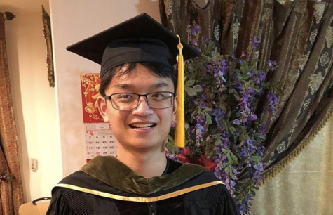 Senior Samuel Kho is one of the 12 valedictorians in the Class of 2020. Image posted with permission from Samuel Kho.