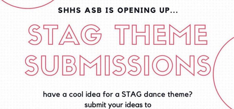 In an effort to get more students involved in school events, the ASB created a name the next stag theme contest with the winner getting a free stag dance ticket. The ASB received 73 suggestions but was unable to pick a winner because school was shut down in mid-March with all events -- including the May stag dance -- canceled in response to the coronavirus crisis.