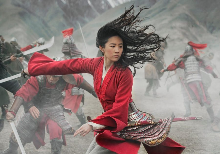 Liu Yifei, as Mulan, fights her own inner conflicts and physical battles in the new live action