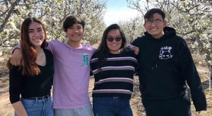 The four Future Farmers of America team members were in Fresno March 12 to look at some of the fruit trees in person and get some practice before their March 13 competition in Yuba City, which was canceled because of the novel coronavirus pandemic. That eventually led to the creation of a virtual event over the summer.