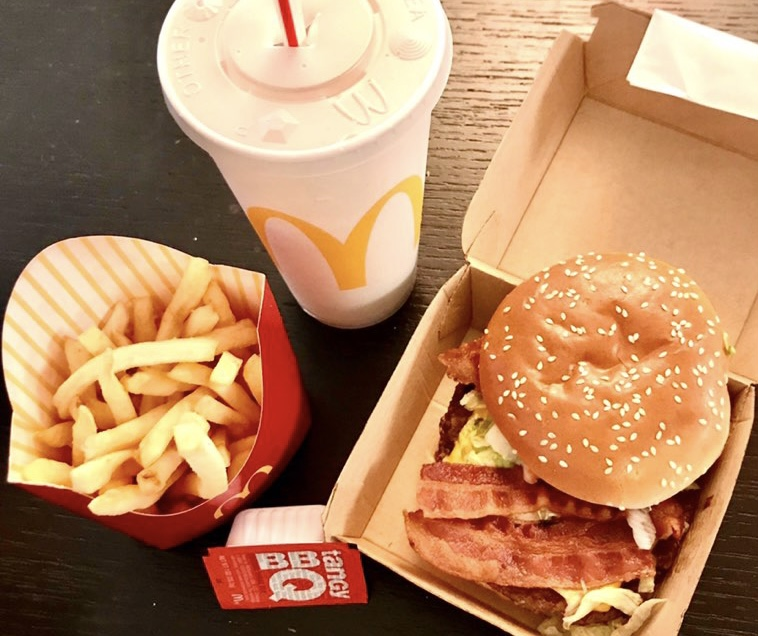 The $6 Travis Scott Meal, named after the Grammy-nominated rapper, consists of a Quarter Pounder with bacon, medium fries with BBQ sauce and a drink of any choice. It