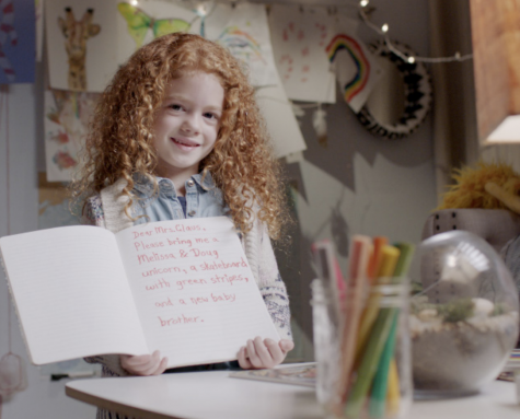 A young girl shares a wish list not for the guy in the red suit, but for his wife, Mrs. Claus. In its latest ad campaign, Zulily is highlighting the true force behind the holiday season.