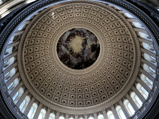 A view of the Capitol rotunda taken in November 2019 during the National Scholastic Press Association