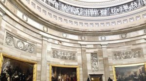 Photo of the Capitol rotunda taken during the November 2019 National Scholastic Press Association journalism convention held in Washington, D.C. A radical faction of Trump supporters broke into the building Jan. 6.