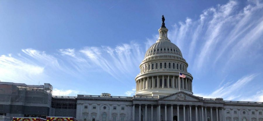 Image of the Capitol building taken during the November 2019 National Scholastic Press Association journalism convention held in Washington, D.C. More than a year later, it was sieged Jan. 6 by a radical faction of Trump supporters.