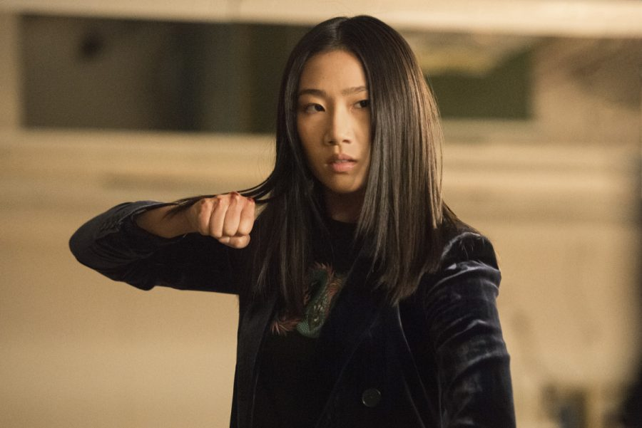 Olivia Liang as Nicky Shen, the main character in the CW