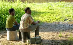 """Dean Williams (left), played by Elisha Williams, and Cory Long (right), played by Amari O'Neil, bond over a fishing trip. The ABC TV series, """"The Wonder Years,"""" will make a grand return to the entertainment industry with its reboot set to premiere Wednesday, Sept. 22 at 8:30 p.m."""